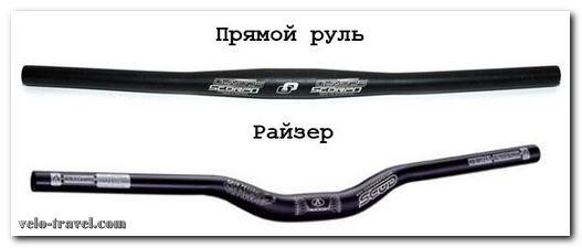 руль ригидного велосипеда