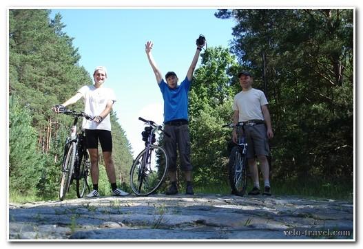 велопоход в тригорье