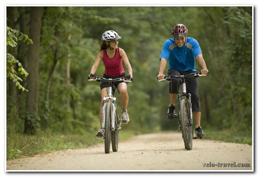 интим на велосипеде