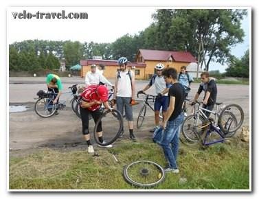 Вело-день 2014 в городе Житомир: искупались все!