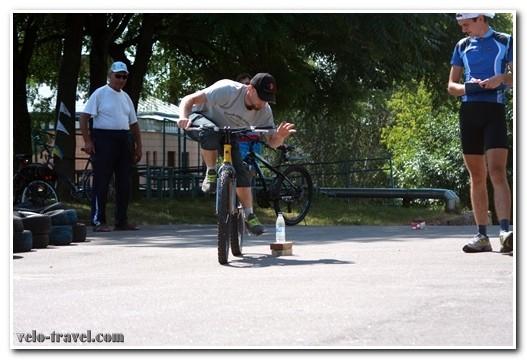 Соревнования с техники велосипедной езды: проигравших нет!