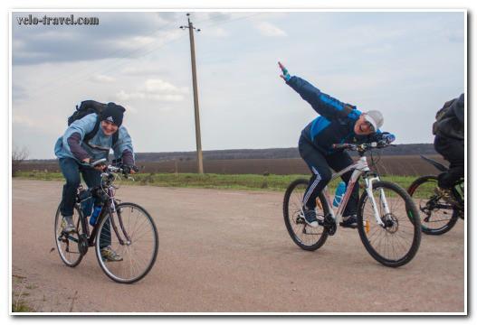 езда на велосипеде против ветра