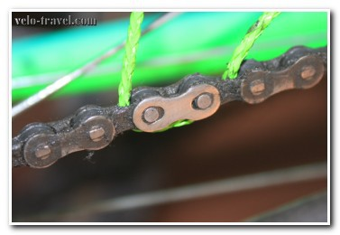 Велосипедная цепь и задний суппорт – быстрая очистка