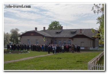 Поездка в Никоновку, в честь праздника — 100 лет со дня основания школы