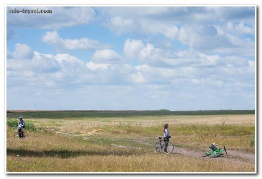 Велопоход в Кодню: ветер и холод нам нипочём