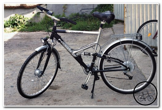 Туристический велосипед Fisher