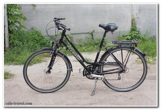 Городской дамский велосипед Gudereit