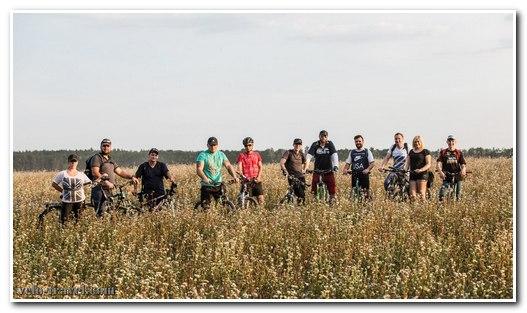 Велопоход по тропам Житомир - Левков