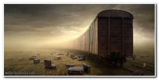 грузовое отделение поезда
