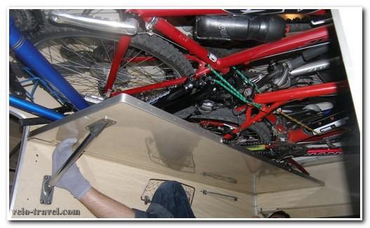 как разместить велосипед
