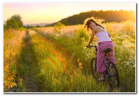 позитив от велосипеда