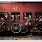 Велосипед — транспортировка в электричке!