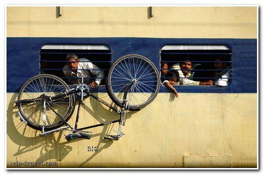 провоз велосипеда в поезде
