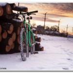 Езда на велосипеде зимой – рассказ об экипировке и обо мне