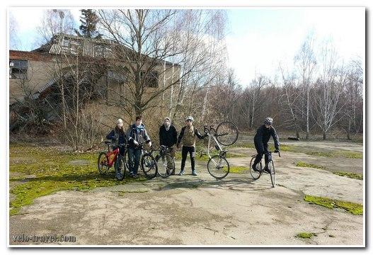 поездка в чернобыль на велосипедах