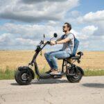 Электроскутер — мобильное средство для передвижения