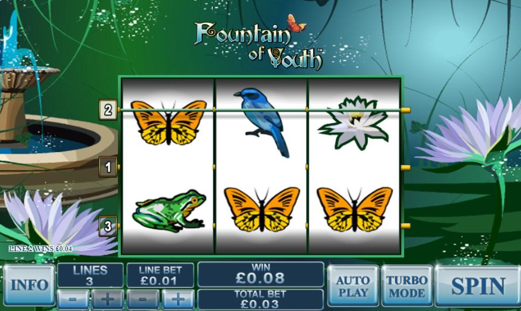 Игровой автомат Fountain of Youth